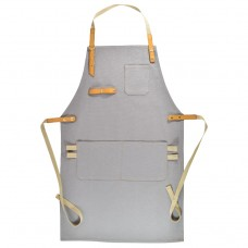 Apron Light Gray Canvas