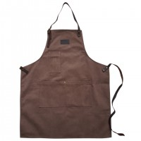 Apron Brown Canvas