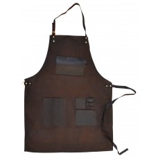 Apron Canvas and leather