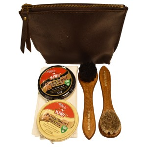 Shoe Care Set Leather